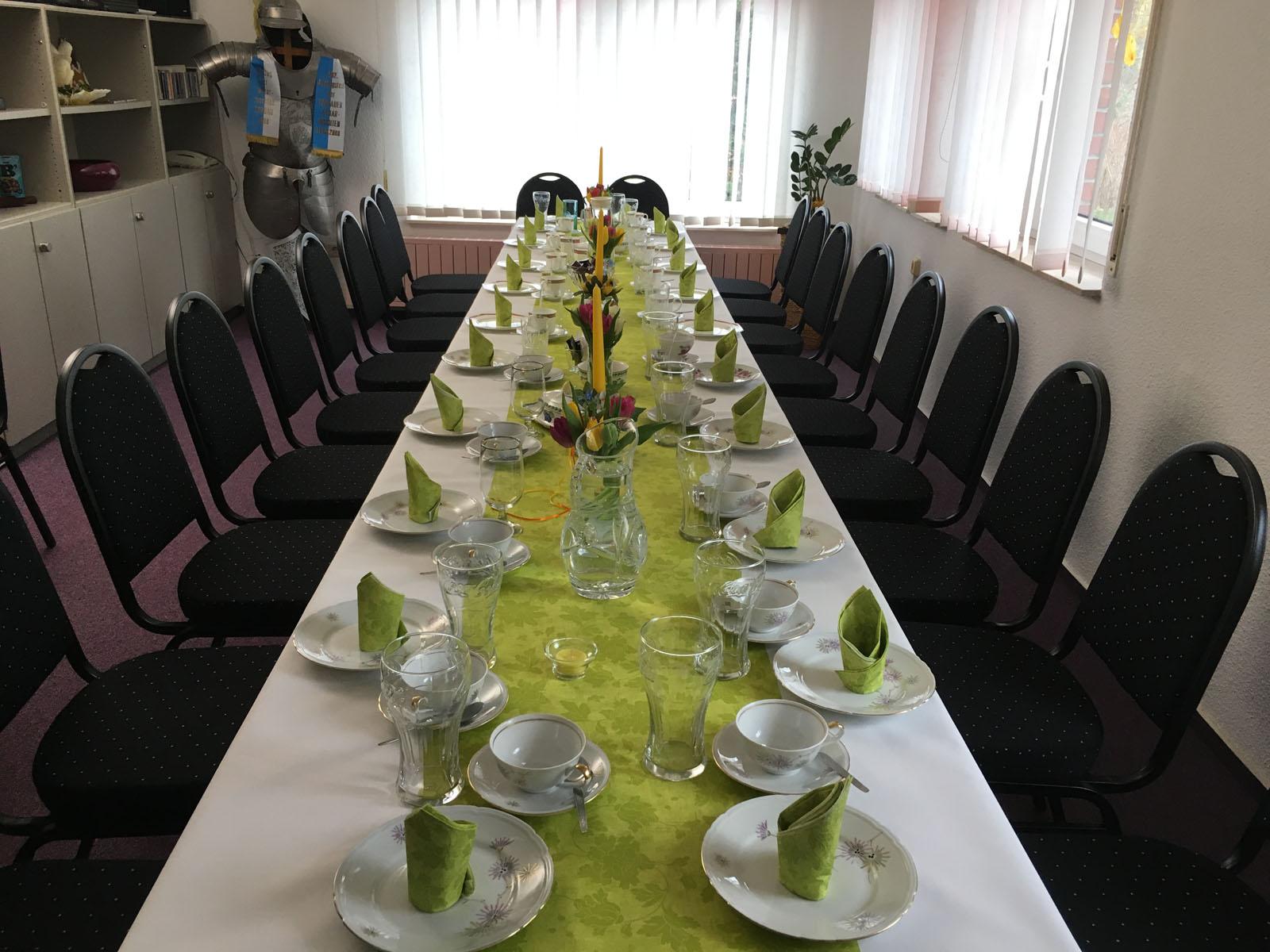 Frühstücksraum / Tagungsraum - Pension Kristen