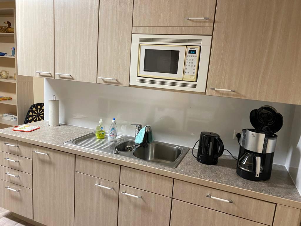Küche der Ferienwohnung - Pension Kristen